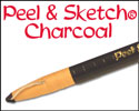 General's Peel & Sketch Charcoal Pencils
