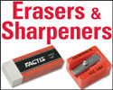 General's Erasers and Sharpeners